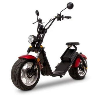 Citi Cruiser 1200l Elektro Scooter Chopper City-Scooter schwarz rot Bild 7