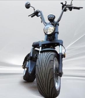 Citi Cruiser Elektro Scooter 1200L Chopper schwarz matt Bild 1