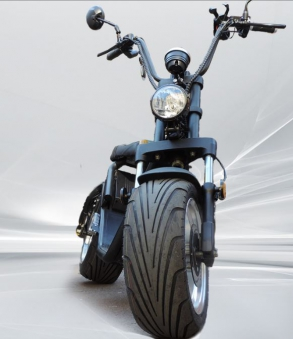 Citi Cruiser Elektro Scooter Chopper City-Scooter schwarz glänzend