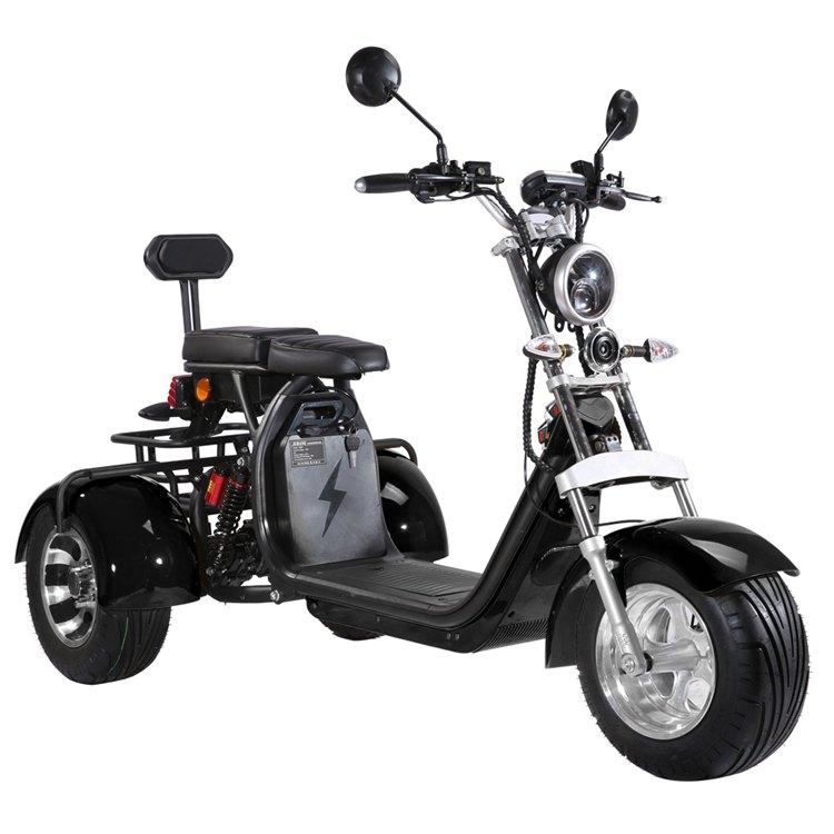 Dreirad Elektroroller 100K / Seniorenmobil / Trike 2000 Watt schwarz Bild 1