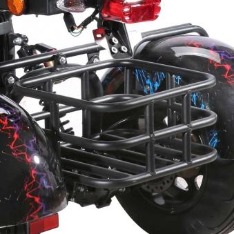 Dreirad Elektroroller 100K / Seniorenmobil / Trike 2000 Watt schwarz Bild 3
