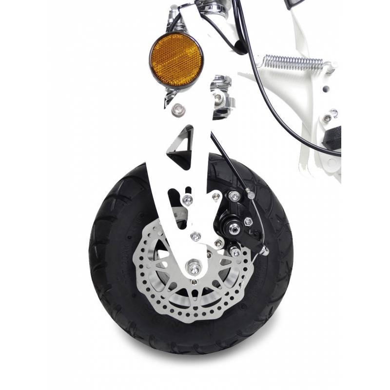 E-Roller Elektroroller mit Sitz Camping 40B Strassenzulassung 1000W Bild 6
