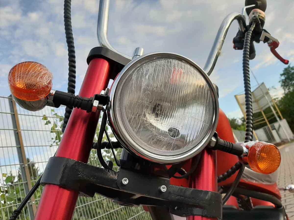 Electro-Roller C2 Mr.Harley City Chopper E-Roller Bild 5