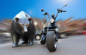 Elektro Roller 50 E Nova Motorroller Mofa Moped Lithium schwarz Bild 8