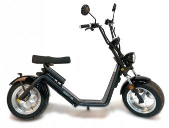 Elektro Roller 50 E Nova Motorroller Mofa Moped Lithium schwarz Bild 10