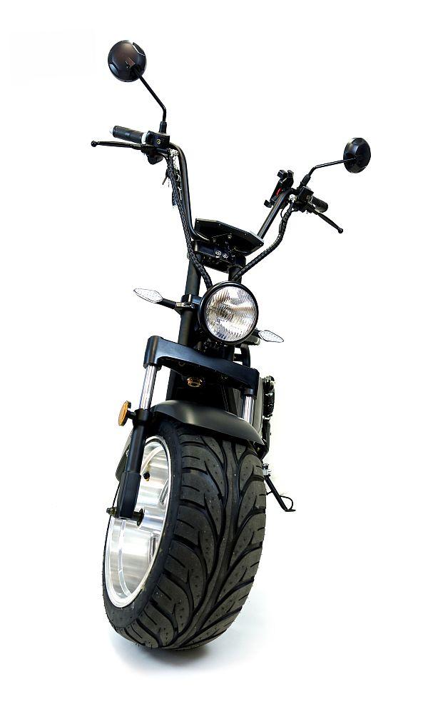 Elektromoped E-Roller City Chopper 1500GT schwarz Strassenzulassung Bild 2