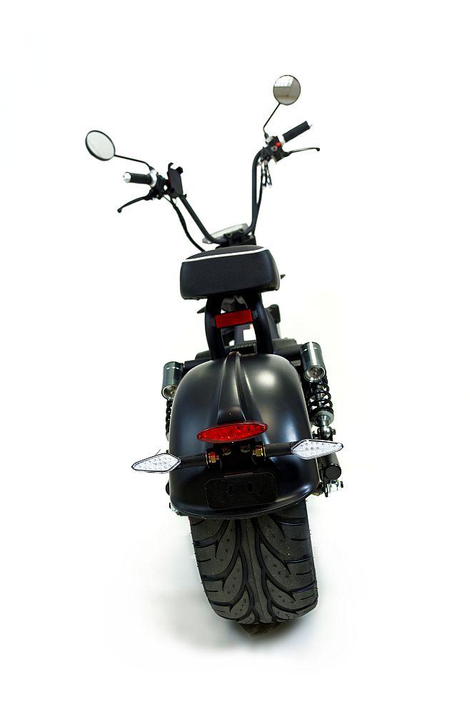 Elektromoped E-Roller City Chopper 1500GT schwarz Strassenzulassung Bild 3