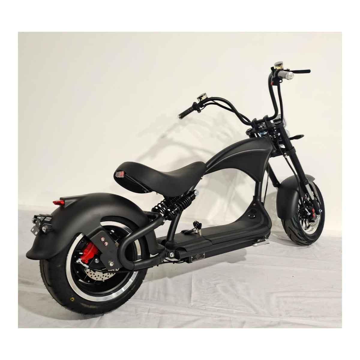 Elektromoped, Elektroroller, E-Roller, Elektrochopper C9 Mr. Harley Bild 1
