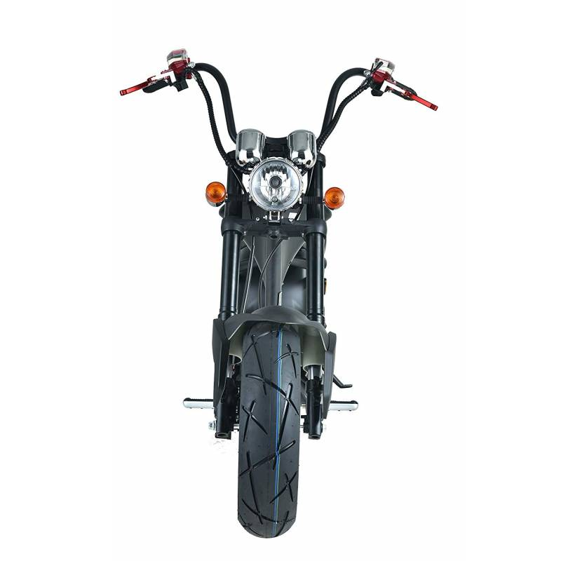 Elektromoped, Elektroroller, E-Roller, Elektrochopper C9 Mr. Harley Bild 6