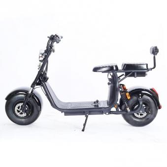 Elektromoped Elektroroller E-Roller Harley CP1-120 schwarz Bild 5