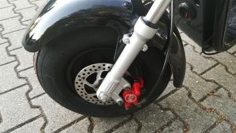 Elektromoped Elektroroller E-Roller Harley CP1-120 schwarz Bild 6