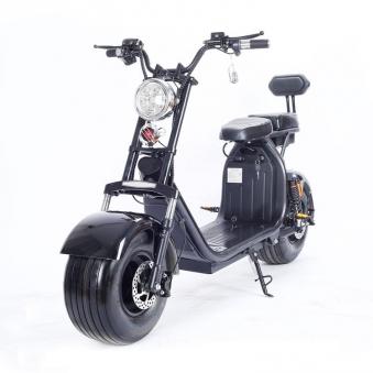 Elektromoped Elektroroller E-Roller Harley CP1-120 schwarz Bild 8