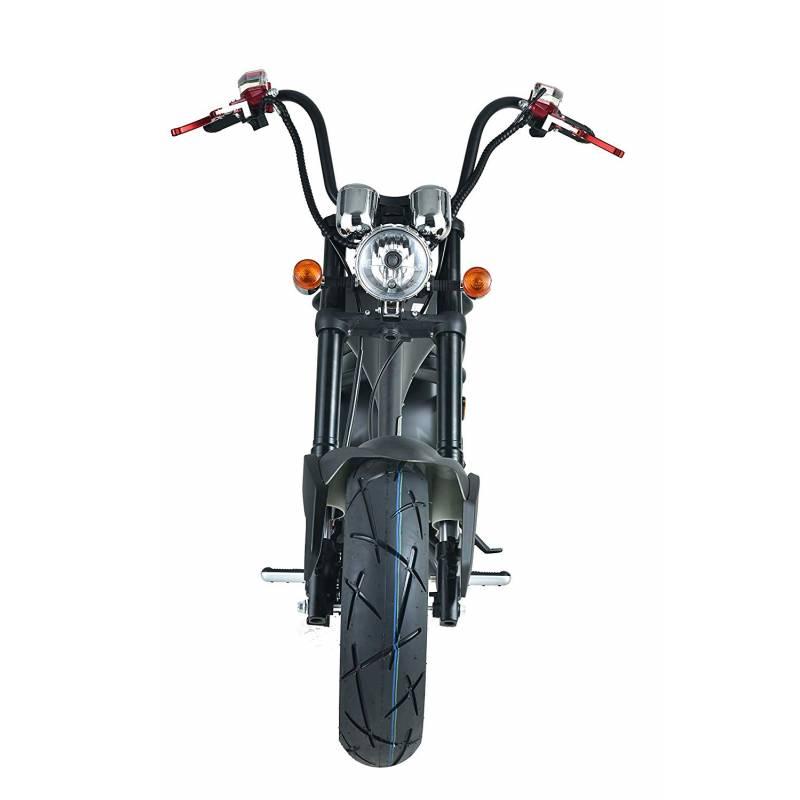 Elektromoped wie 50cc Staßenzulassung e-Scooter E-Roller C9 Mr. Harley Bild 6