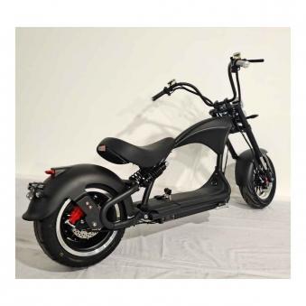 Elektromoped wie 50cc Staßenzulassung e-Scooter E-Roller C9 Mr. Harley Bild 1