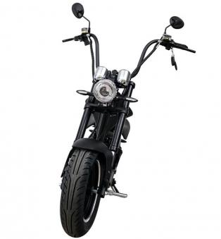 Elektromoped wie 50cc Staßenzulassung e-Scooter E-Roller C9 Mr. Harley Bild 2