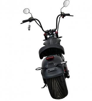 Elektromoped wie 50cc Staßenzulassung e-Scooter E-Roller C9 Mr. Harley Bild 3
