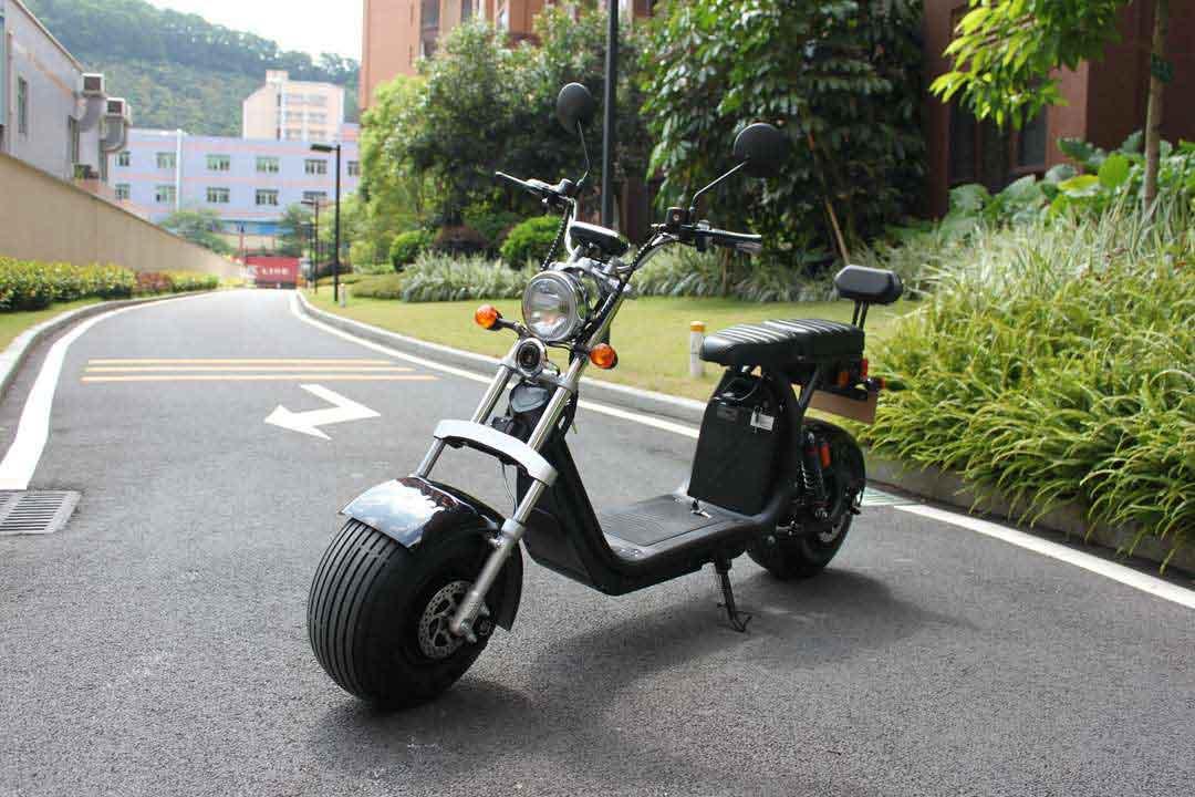 Elektroroller, Citychopper, E-Roller, Harley CP1-60 schwarz Bild 1