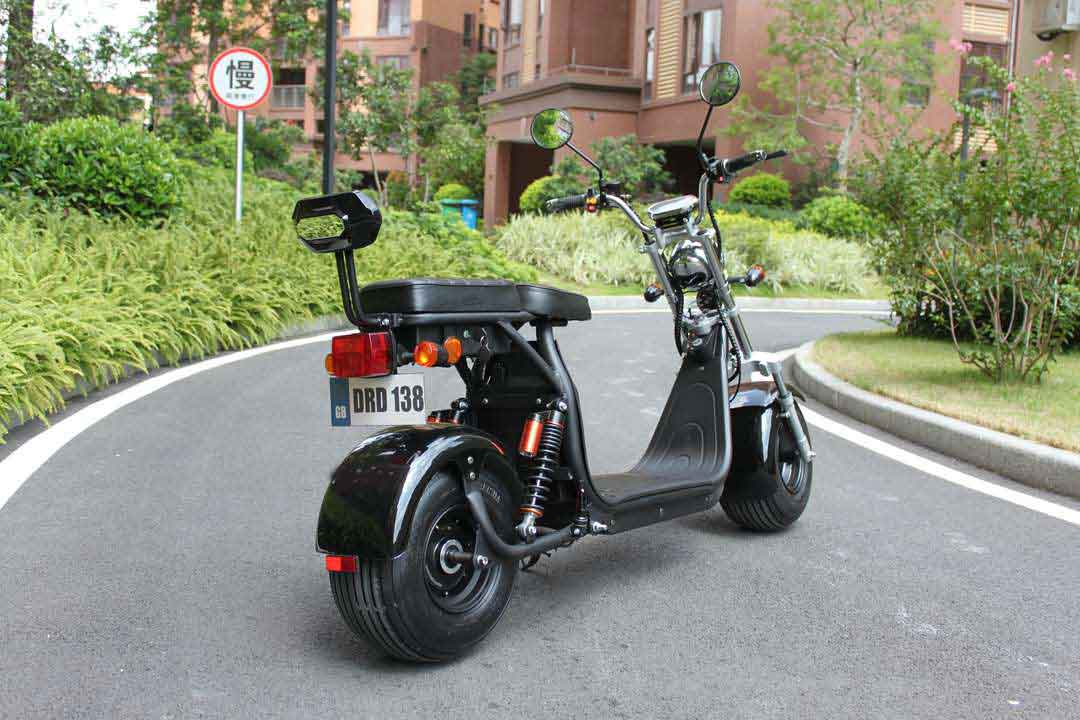 Elektroroller, Citychopper, E-Roller, Harley CP1-60 schwarz Bild 3