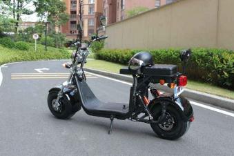 Elektroroller, Citychopper, E-Roller, Harley CP1-60 schwarz Bild 2