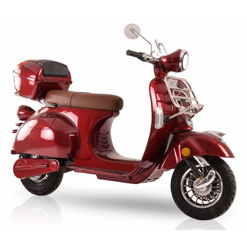 Elektroroller / E-Roller Elektromoped Ginabella 3000 Watt rot Bild 3
