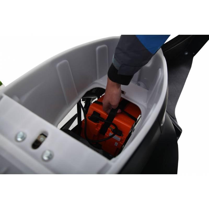 Elektroroller / E-Roller Futura One anthrazit Lithium-Akku 2000 Watt Bild 7