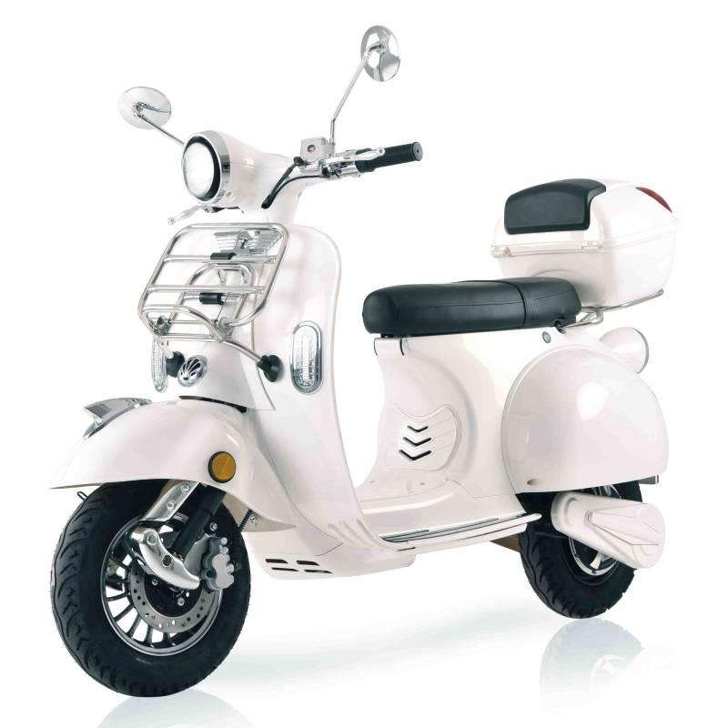 Elektroroller / E-Roller Ginabella  Classico LI weiß 3000 Watt Bild 1