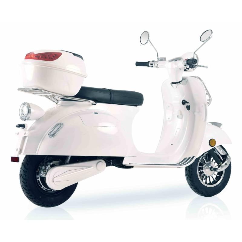 Elektroroller / E-Roller Ginabella  Classico LI weiß 3000 Watt Bild 4