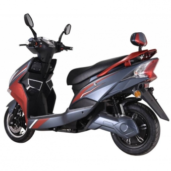 Elektroroller / E-Roller Hawk 3000 LI grau/rot Lithium-Akku 3000W Bild 3