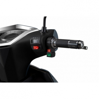 Elektroroller / E-Roller Hawk 3000 LI grau/rot Lithium-Akku 3000W Bild 5