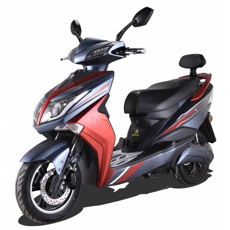 Elektroroller / E-Roller Hawk 3000 LI schwarz/rot Lithium-Akku 3000W Bild 1