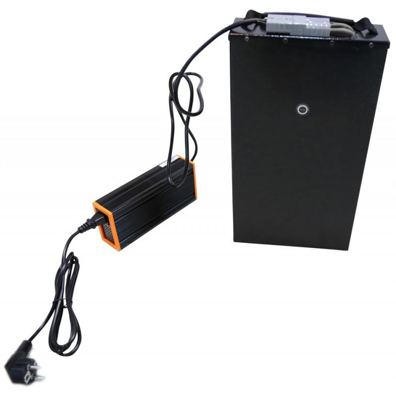 Elektroroller / E-Roller Hawk 3000 LI schwarz/rot Lithium-Akku 3000W Bild 2