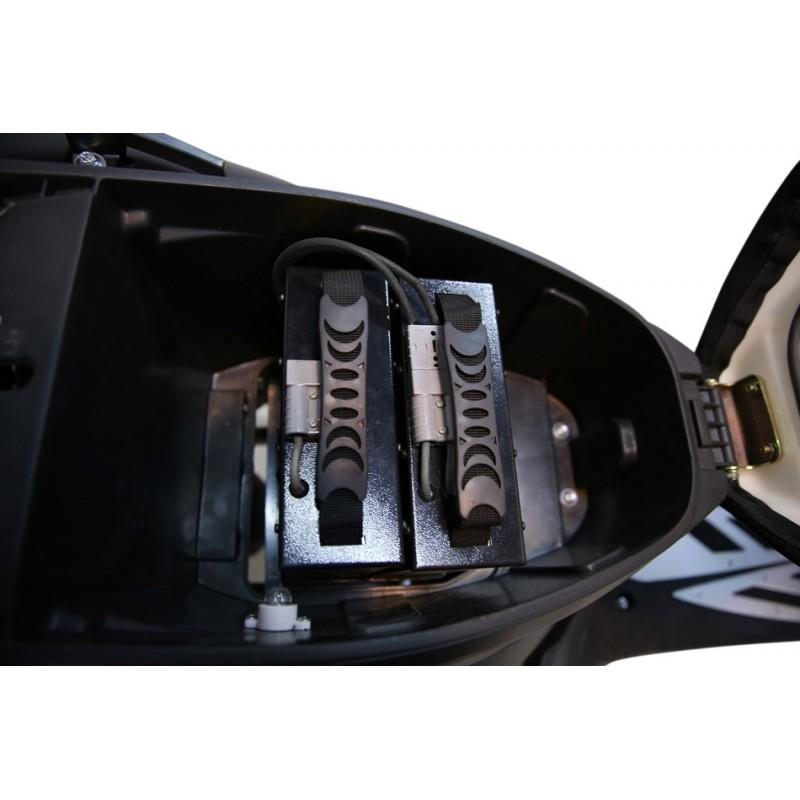 Elektroroller / E-Roller Hawk 3000 LI schwarz/rot Lithium-Akku 3000W Bild 7