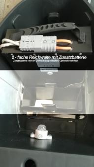 Elektroroller / E-Roller Hawk 3000 LI schwarz/rot Lithium-Akku 3000W Bild 9
