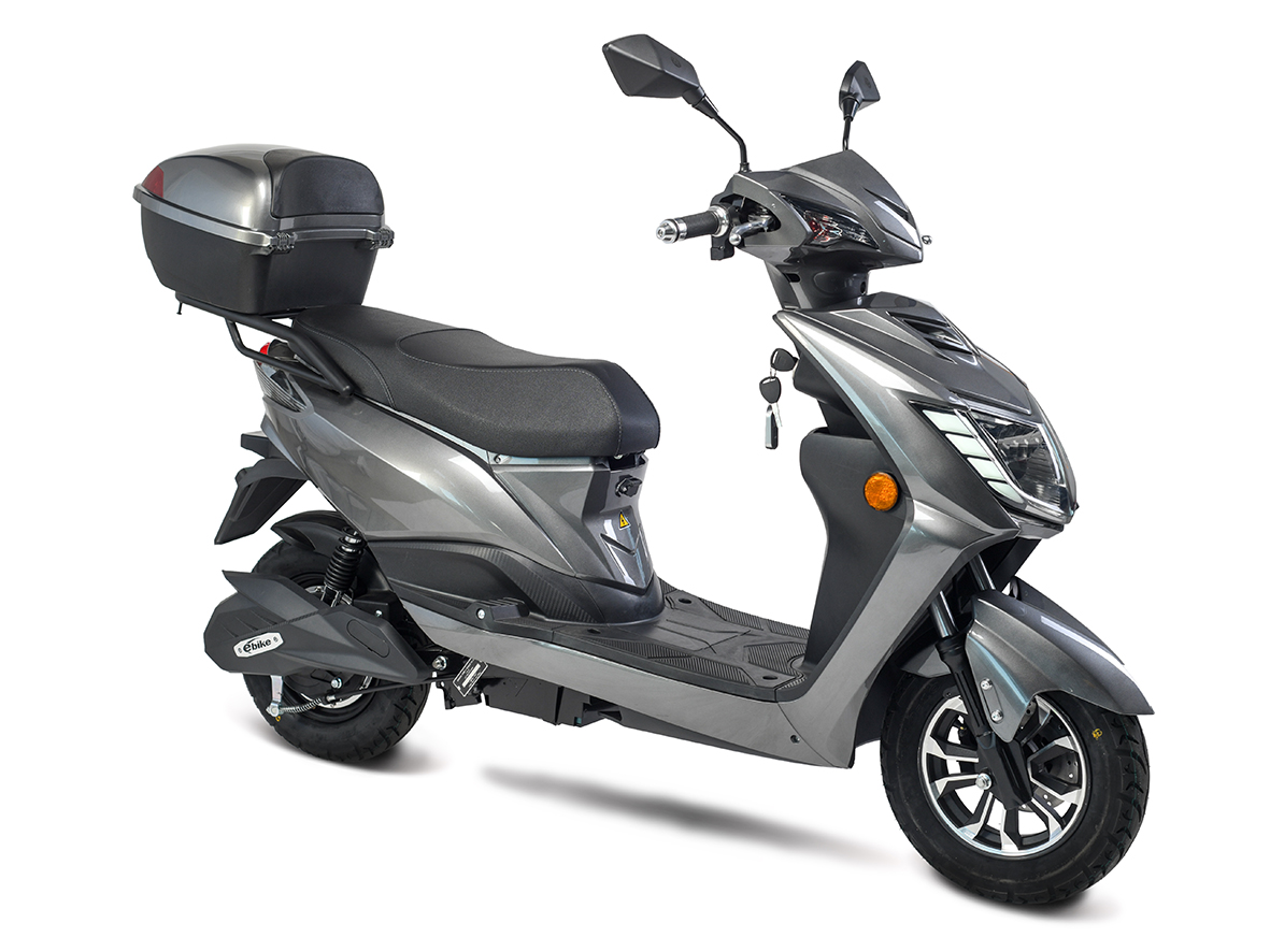 Elektroroller, E- Roller, Motorroller Siegurd1 grau 2000 Bild 2