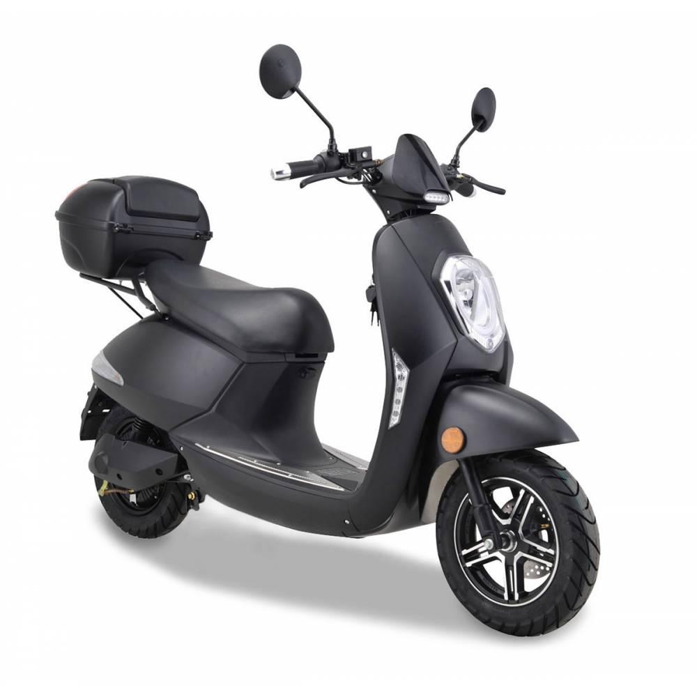 Elektroroller Motorroller Boschmotor Gina 45 - 25 km/h schwarz Bild 1