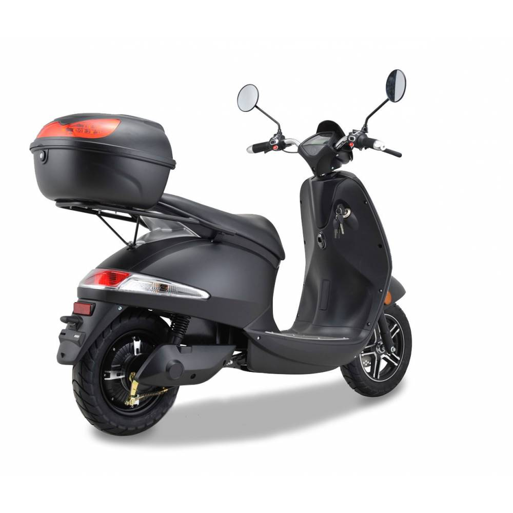 Elektroroller Motorroller Boschmotor Gina 45 - 25 km/h schwarz Bild 6