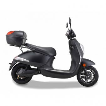 Elektroroller Motorroller Boschmotor Gina 45 - 25 km/h schwarz Bild 4