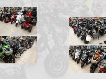 Elektroroller Mr.Harley C9 40 Ah E-Roller Chopper rot-matt Bild 2