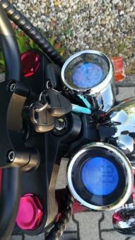 Elektroroller Mr.Harley C9 40 Ah E-Roller Chopper rot-matt Bild 11