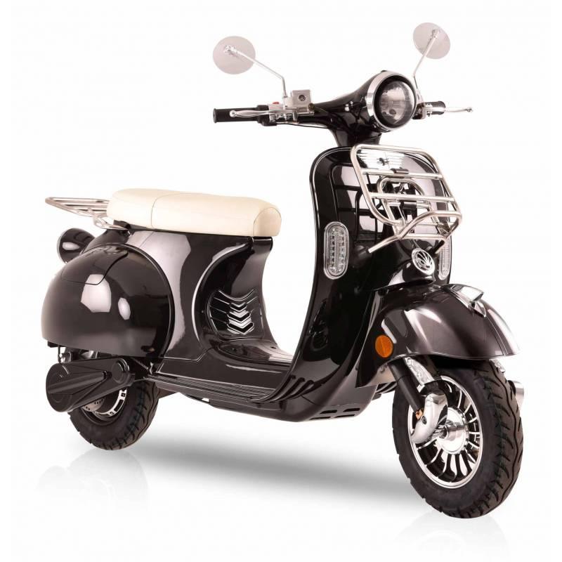 Elektroroller Retro 72 / E-Roller Ginabella Classico 3000 schwarz Bild 1