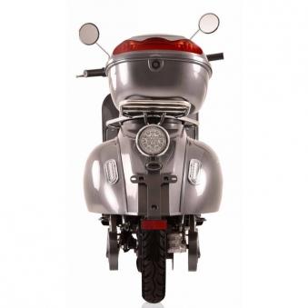 Elektroroller Retro 72 / Elektro-Roller Ginabella Classico 3000 grau Bild 4