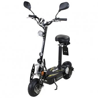 Elektroroller S20 schwarz mit Zulassung / E-Roller mit Sitz Bild 1