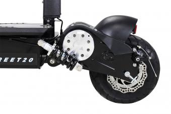 Elektroroller S20 schwarz mit Zulassung / E-Roller mit Sitz Bild 11