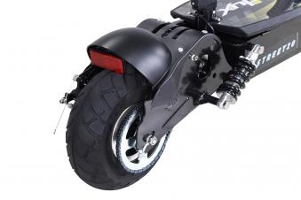 Elektroroller S20 schwarz mit Zulassung / E-Roller mit Sitz Bild 12