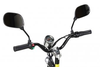 Elektroroller S20 schwarz mit Zulassung / E-Roller mit Sitz Bild 5