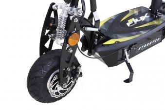Elektroroller S20 schwarz mit Zulassung / E-Roller mit Sitz Bild 8