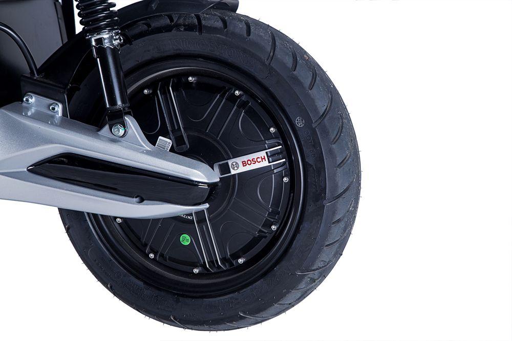 Elektroroller / Scooter Sigfried1 Blei-Gel-Akku 3000W Grau grün 45km/h Bild 5