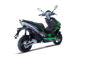 Elektroroller / Scooter Sigfried1 Blei-Gel-Akku 3000W Grau grün 45km/h Bild 4