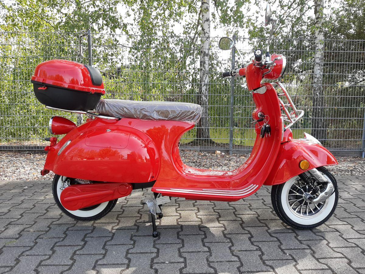 Elektroroller Sexi Ginabella Reichweite bis 120KM 2800-120 rot Bild 1
