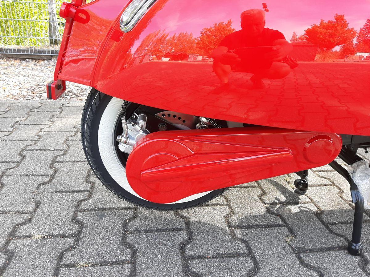 Elektroroller Sexi Ginabella Reichweite bis 120KM 2800-120 rot Bild 4